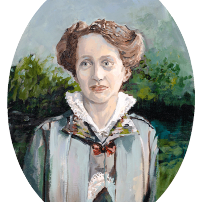 Martha, Acryl auf Leinwand, 40 × 30 cm