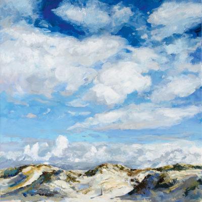 Dünen SPO, Acryl auf Leinwand, 50 × 70 cm