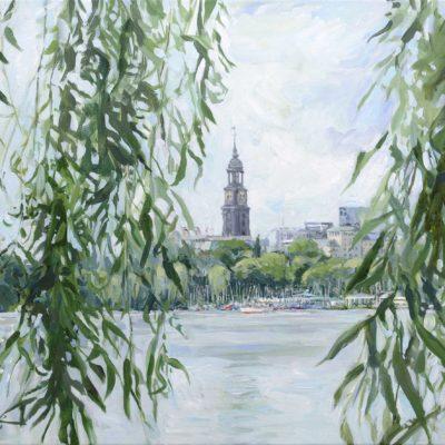 Michel, Acryl auf Leinwand, 50 x 70 cm